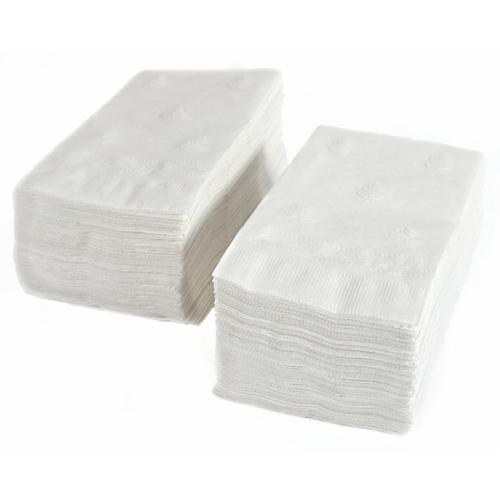 Dinner Napkins, 2 Ply White (3000/Case)
