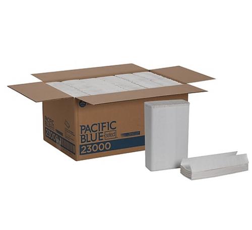 Pacific Blue Select C-Fold Towels, 2 Ply Premium (1440/Case)