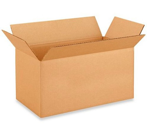"16x8x8"" Corrugated Boxes (25/Bundle)"