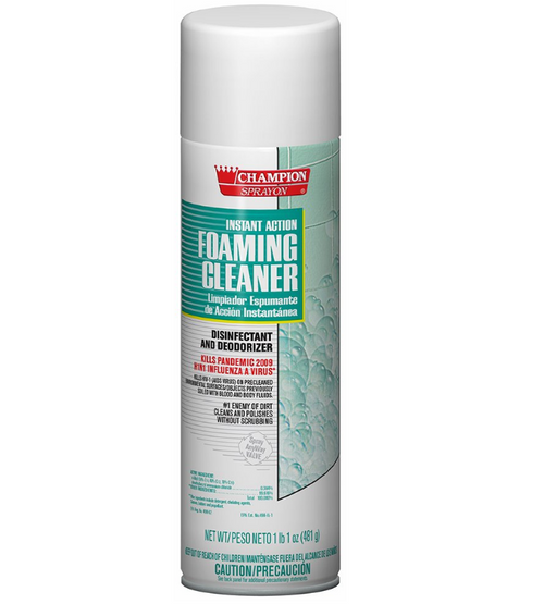 Instant Action Foaming Disinfectant Cleaner Spray (1/Each)