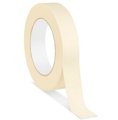 "1""x180' 6.0 Mil Heavy Duty Masking Tape (36/Case)"