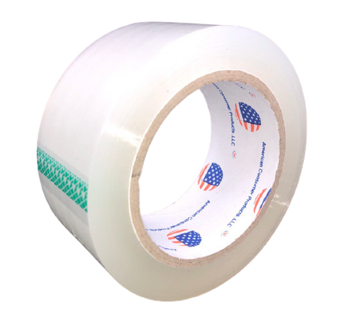 "2""x110 Yard Clear Packaging Tape, Heavy Duty 2 Mil (6/Pack)"