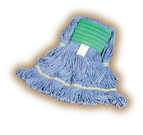 Blue Loop End Mop Head, Medium (1/Each)