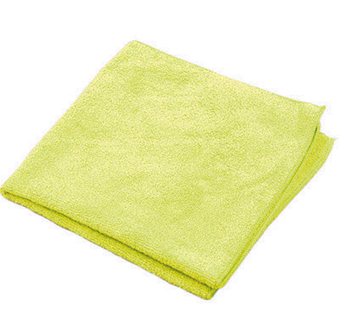 "Yellow Microfiber Towels 16x16"" (12/Pack)"