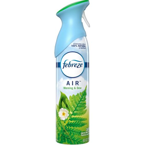 Febreze Air Effects Air Freshener, Morning & Dew (6/Case)