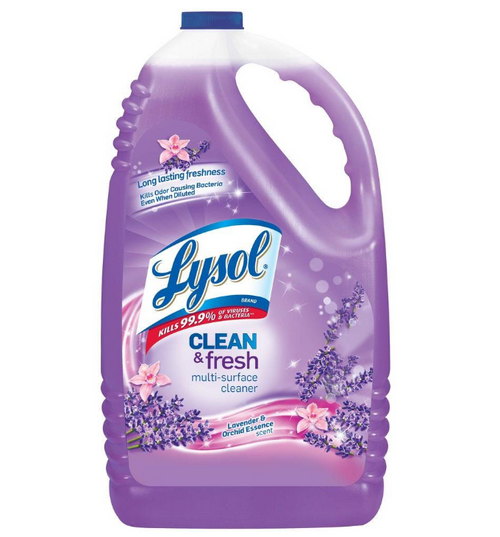Lysol Lavender Disinfecting All Purpose Cleaner 1 Gallon (1/Each)