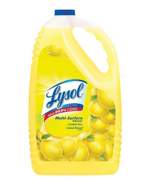Lysol Lemon Disinfecting All Purpose Cleaner 1 Gallon (1/Each)