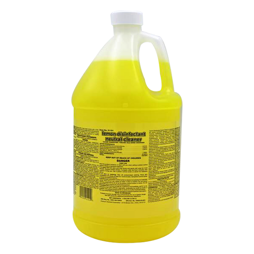 One Step Lemon Disinfectant Neutral pH All Purpose Cleaner, Concentrated, 1 Gallon (1/Each)