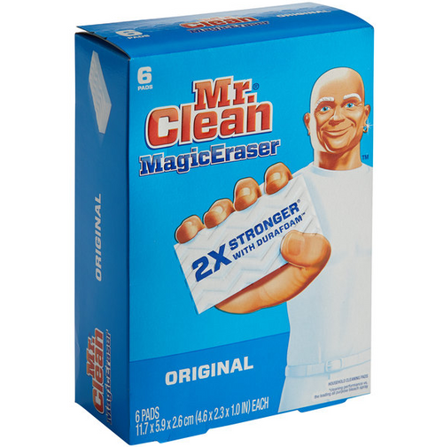 Mr. Clean Magic Eraser w/ Durafoam (6/Box)