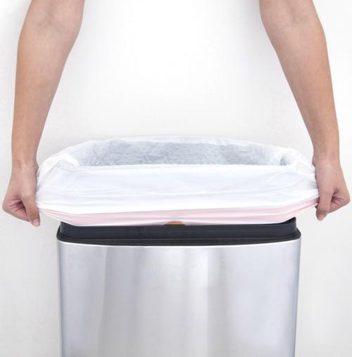 13 Gallon Stretch-Tough Trash Bags w/ Drawstring (100/Roll)