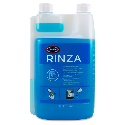 Rinza Milk Frother Cleaner Liquid, Alkaline Formula, 1 Liter (1/Each)