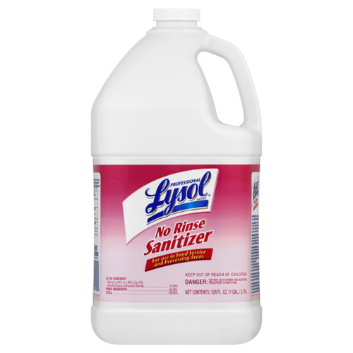Lysol No Rinse Sanitizer Concentrate 1 Gallon (1/Each)