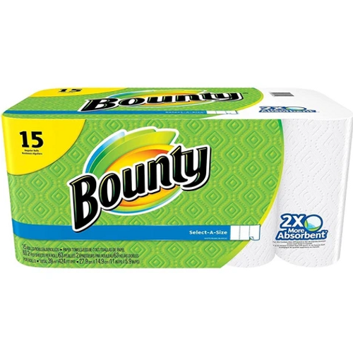Bounty Paper Towels, Full Sheet (15/Pack)