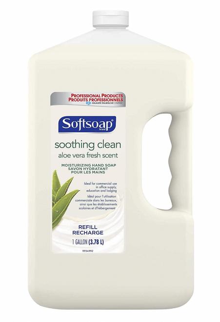SoftSoap Hand Soap, Soothing Aloe Vera 1 Gallon (1/Each)