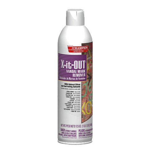 X-it-OUT Vandalism & Graffiti Remover Spray 17.5 oz (1/Each)