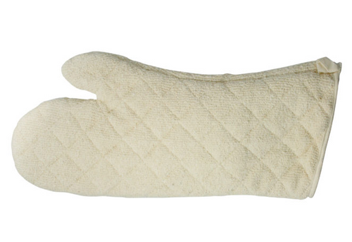 "17"" Oven Mitt, Terry Cloth w/ Silicone Lining, 600°F (1/Each)"