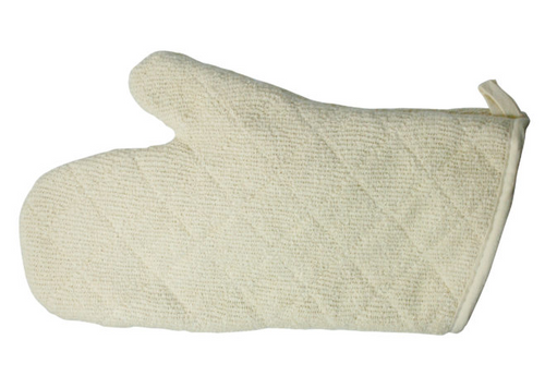 "13"" Oven Mitt, Terry Cloth w/ Silicone Lining, 600°F (1/Each)"