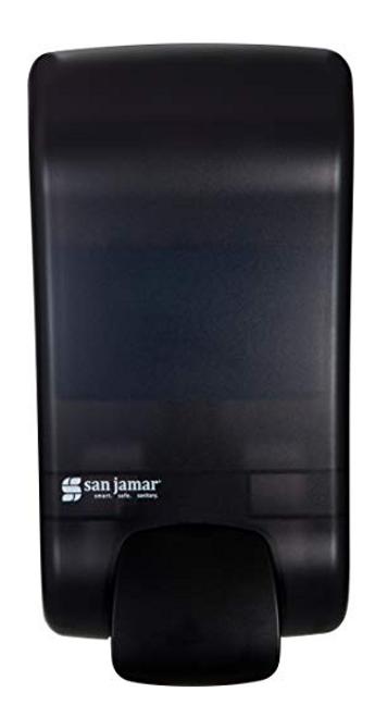Manual Hand Sanitizer & Soap Dispenser, 1300ml, Black (1/Each)