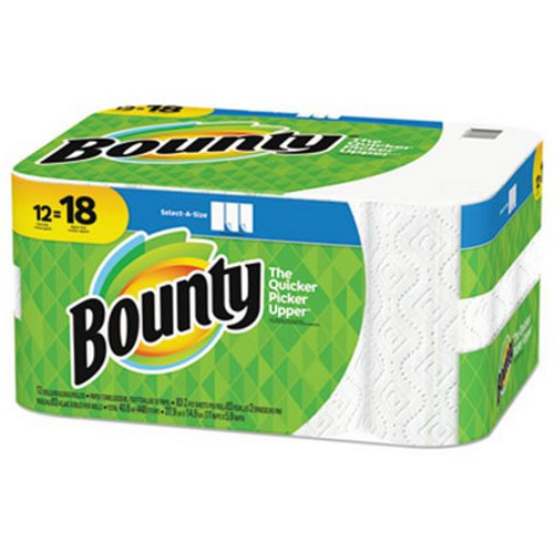 Bounty Paper Towels, Select-A-Size,  83 Sheets (12/Pack)