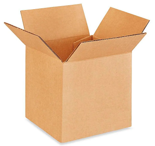 "10x10x10"" Corrugated Boxes (25/Bundle)"