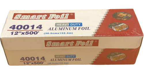 "12""x500' Aluminum Foil Roll, Heavy Duty"