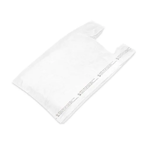 White T Shirt Bag 12x7x22 Kevidko