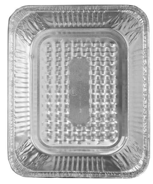 Half Size Deep Aluminum Foil Steam Table Pan, 35 Gauge, 321-35-100 (100/Case)