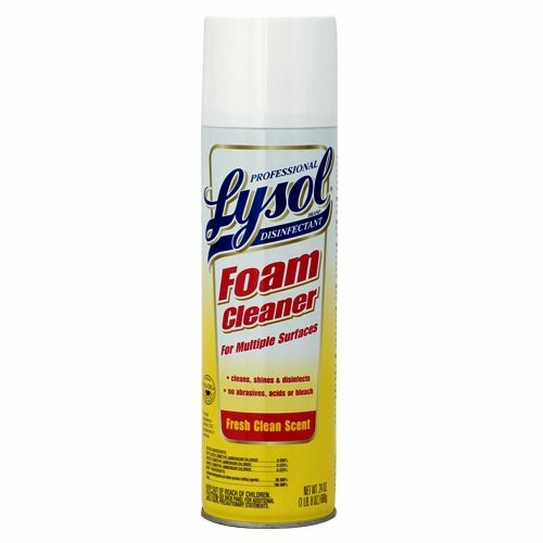 Lysol Disinfectant Foam Cleaner, Fresh Clean Scent, 24 oz
