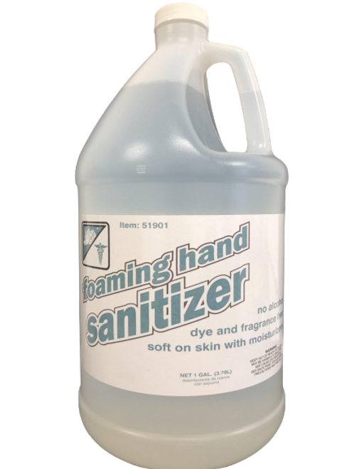 Foaming Hand Sanitizer - Alcohol, Dye, & Fragrance Free 1 Gallon (1/Each)
