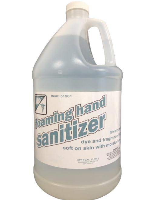 Foaming Hand Sanitizer - Alcohol, Dye, & Fragrance Free 1 Gallon (1/Each)