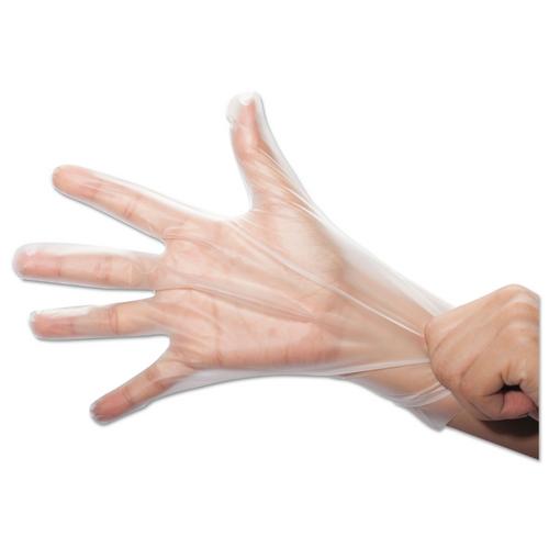 TPE Stretch Hybrid Poly Gloves, Large (200/Box)