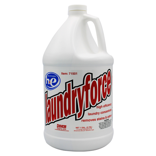 Laundryforce High Efficiency Laundry Detergent Concentrate 1 Gallon