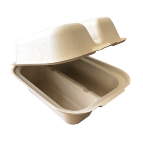 "Fiber Taco Box, 2 Compartment, 7x5.5x3.5"" (300/Case)"