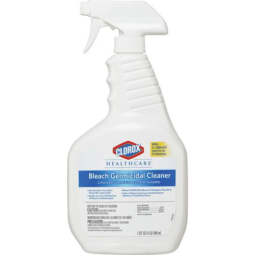 Clorox Healthcare Bleach Germicidal Cleaner 32 oz (6/Case)