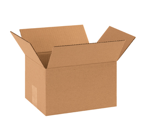 "10x8x6"" Corrugated Boxes (25/Bundle)"