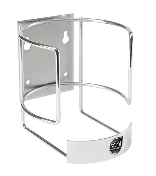 Wall Bracket for Large/XL Wipe Canisters, Chrome Finish (1/Each)