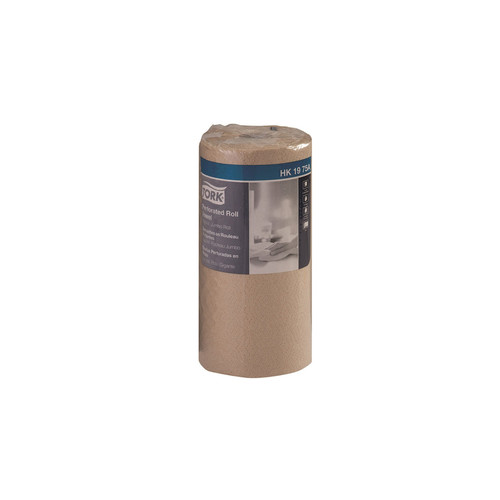 Tork HK1975A Natural Kraft Kitchen Roll Paper Towels, 210 Sheets (12/Case)