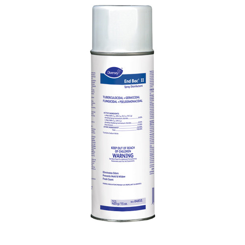 Diversey 04832 End Bac II Spray Disinfectant, 15 oz (1/Each)