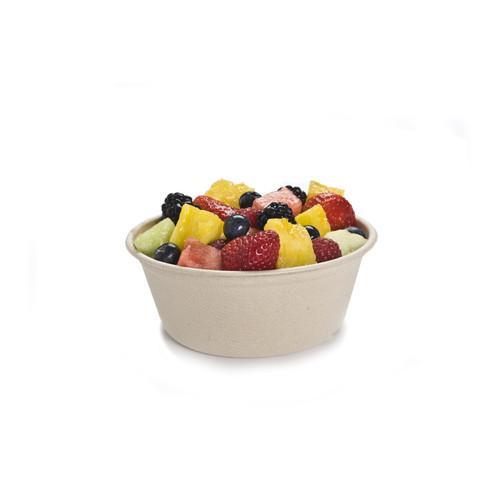 Sabert 46016D500 16 oz Pulp Fiber Bowls (500/Case)