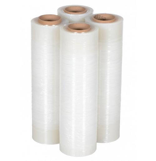 """18""""x1500 Sq Ft 80 Gauge Clear Stretch Wrap Film, Pallet Wrap (4/Case)"""