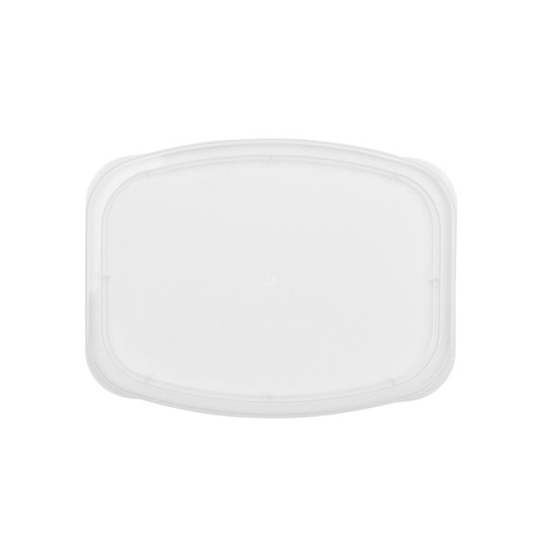 DeliCuBe DR-RL-C Recessed Lid for 8-32 oz Rectangular Heavy Duty Deli Container (200/Case)