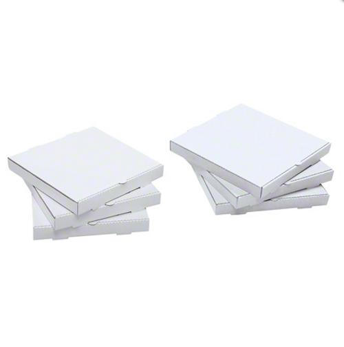 """12"""" Plain White Pizza Box (50/Case)"""