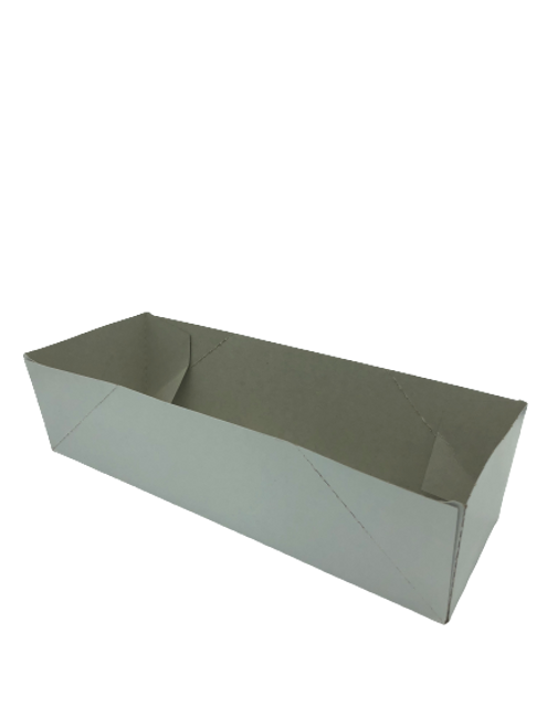 Plain White Tray for 3 Berry Baskets (250/Case)