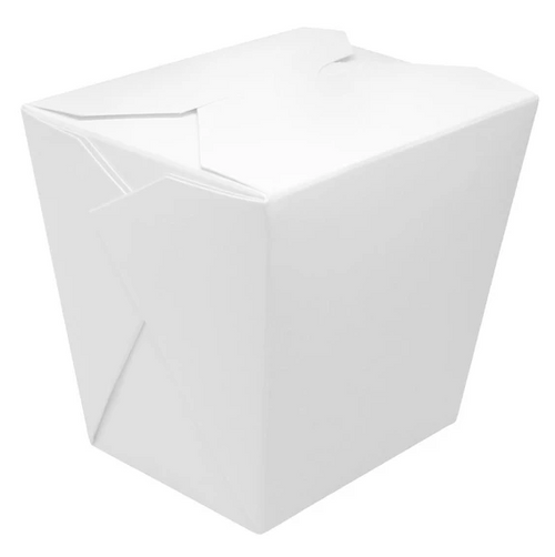 16 oz Plain White Food Pail (400/Case)