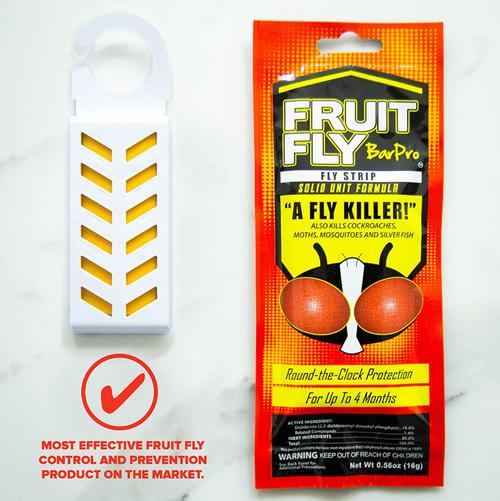 Fruit Fly BarPro Strips, Fruit Fly Killer (10/Case)