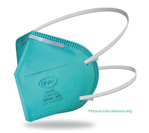 N95 Particulate Respirator Mask, Blue (20/Box)