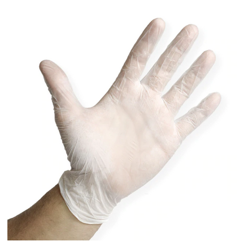Translucent Nitrile Gloves, One Size Fits Most (10/100/Case)