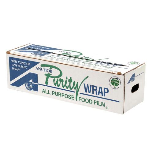 "PurityWrap 18""x2000' Premium Cling Film Cutterbox (1/Each)"