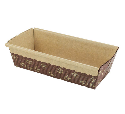 "Loaf Baking Mold, Microcorrugated, 6x2.5x2"" (720/Case)"