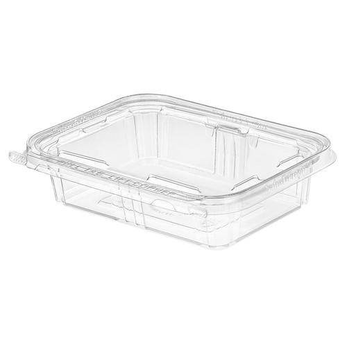 TS20 Inline Plastics 20 oz Tamper Evident Tear-Strip Container (200/Case)